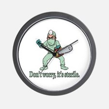 Funny Gifts For Patients Wall Clock