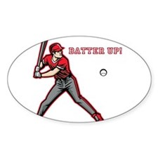 Batter Up! Decal