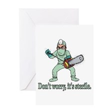 Funny Gifts For Patients Greeting Card