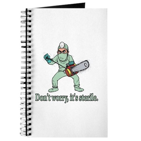 Funny Gifts For Patients Journal