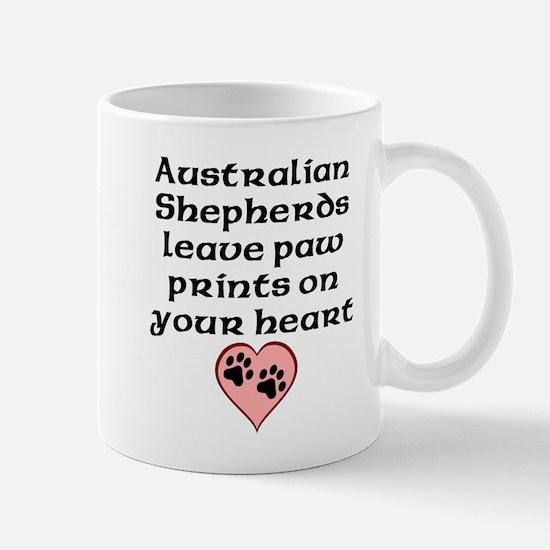Australian Shepherds Leave Paw Prints On Your Hear