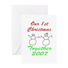 1st Christmas Greeting Card