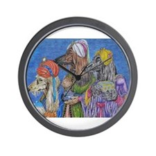 We Three Kings Wall Clock