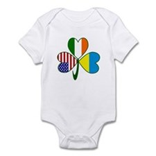 Shamrock of Ukraine Infant Bodysuit