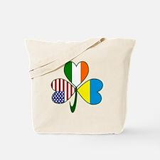 Shamrock of Ukraine Tote Bag