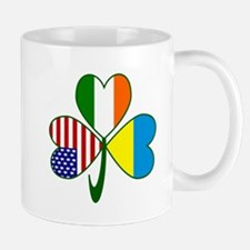 Shamrock of Ukraine Mug