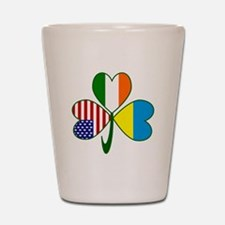 Shamrock of Ukraine Shot Glass
