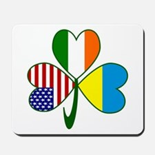 Shamrock of Ukraine Mousepad