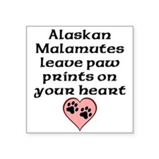 Alaskan Malamutes Leave Paw Prints On Your Heart S
