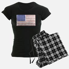 Patriotic Schnauzer Pajamas