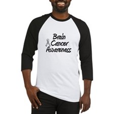 Brain Cancer Awareness Baseball Jersey