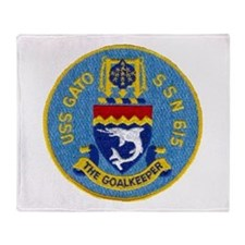 USS GATO Throw Blanket