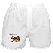 Proud Turtle Lover Boxer Shorts