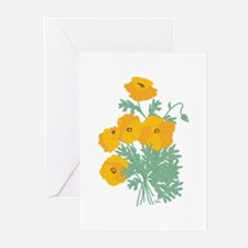 Sunny Poppies Greeting Cards