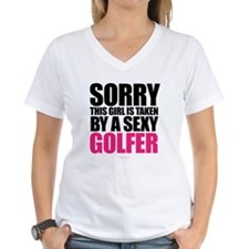 Girl Taken By Sexy Golfer T-Shirt