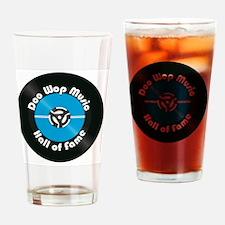Doo Wop Music Hall of Fame Drinking Glass