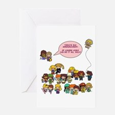 Girls Can Do Anything! Greeting Card