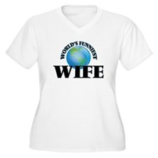 World's Funniest Wife Plus Size T-Shirt