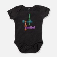 Brush Floss Rinse Smile Body Suit
