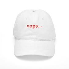 OOPS... Baseball Cap