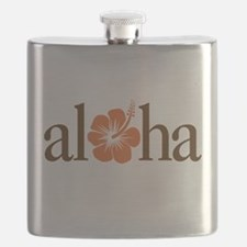Unique Aloha Flask