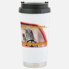 Now Toonces...Don't tex Stainless Steel Travel Mug