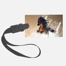 Awesome, beautiful horse Luggage Tag