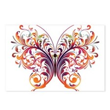 Scroll Butterfly Postcards (Package of 8)