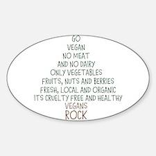 Go Vegan Decal