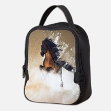 Awesome, beautiful horse Neoprene Lunch Bag