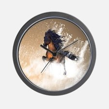 Awesome, beautiful horse Wall Clock