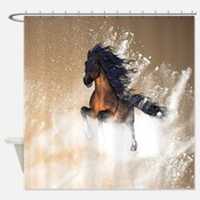 Awesome, beautiful horse Shower Curtain