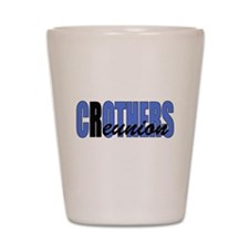 Crothers Reunion Blue Shot Glass