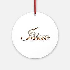 Gold Issac Round Ornament