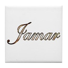 Gold Jamar Tile Coaster