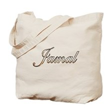 Gold Jamal Tote Bag