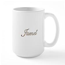 Gold Jamel Mug
