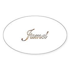 Gold Jamel Decal