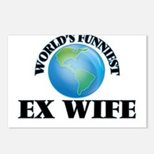 World's Funniest Ex-Wife Postcards (Package of 8)