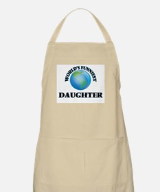World's Funniest Daughter Apron