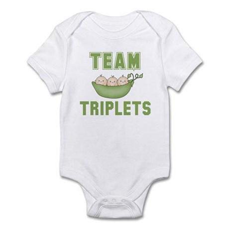 Triplets Infant Bodysuit