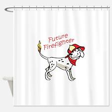 Future Firefighter Shower Curtain