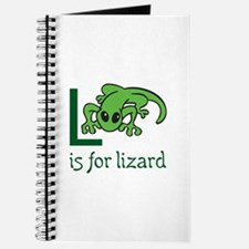 L Is For Lizard Journal