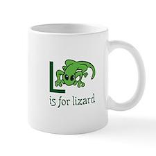 L Is For Lizard Mugs