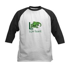 L Is For Lizard Baseball Jersey