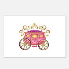 CINDERELLA CARRIAGE Postcards (Package of 8)
