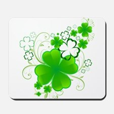 Clovers and Swirls Mousepad