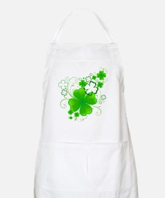 Clovers and Swirls Apron