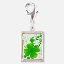 Clovers and Swirls Charms