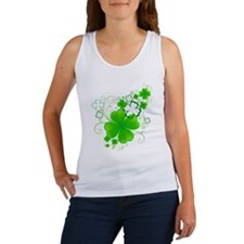 Clovers and Swirls Tank Top